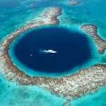 The Great Blue hole - only 30 min away from our resort and easily the best dive site in Belize