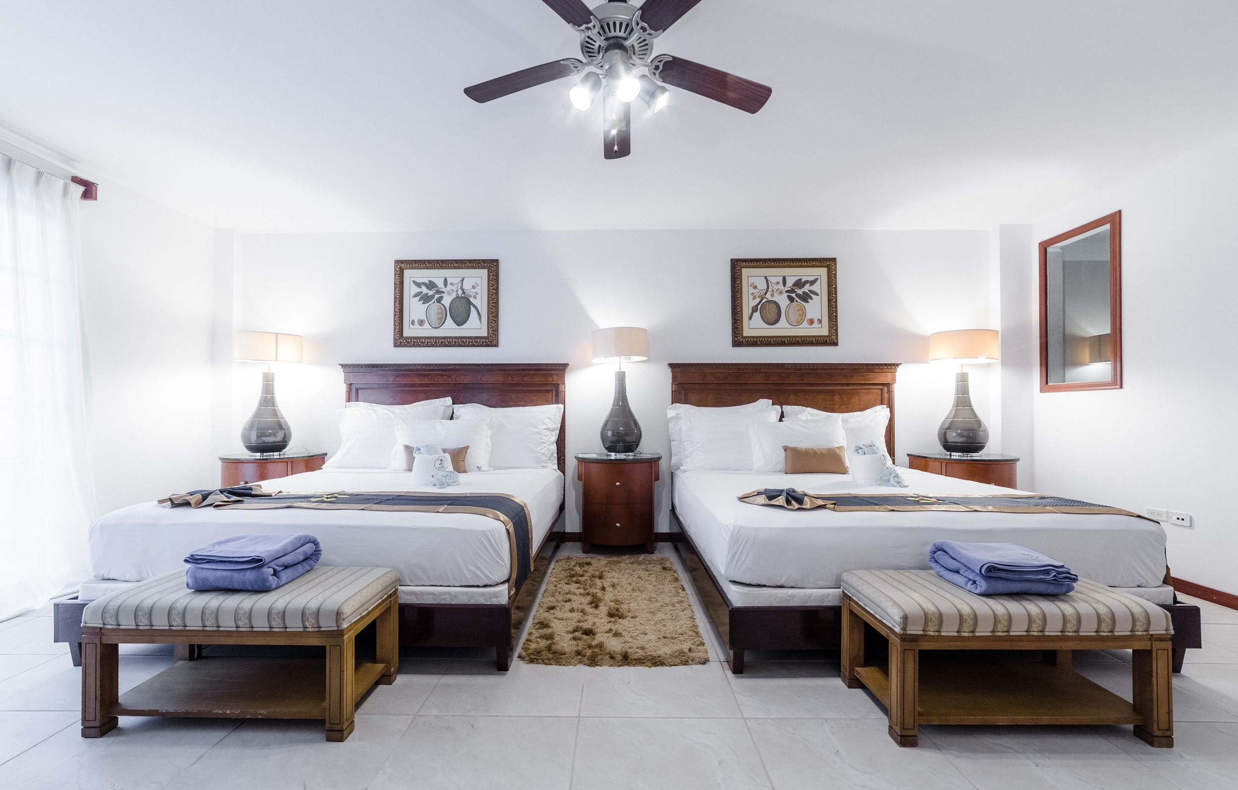 Belize Resort Accommodations Double Bed Room